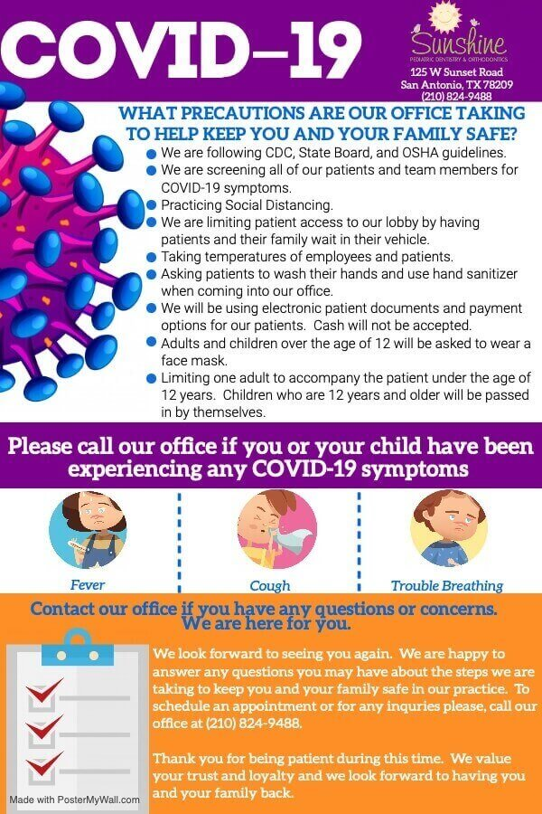 covid flyer